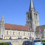 Rots, l'église Saint-Ouen du XIIIe siècle