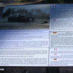 Rots, panneau « sur les chemins de la Libération »