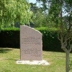 Sainte-Mère-Église, stèle General Ridgway & General Gavin
