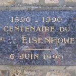 Sainte-Mère-Église, plaque Eisenhower