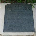 Sainte-Mère-Église, parc mémorial La Fière, plaque 80th AA Battalion