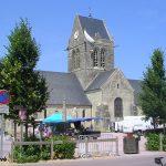 Sainte-Mère-Église, église Notre-Dame de l'Assomption du XIVe siècle