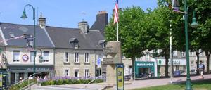 Sainte-Mère-Église, ville lettrine