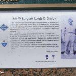 Sainteny, panneau Sergeant Smith