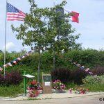 Sainteny, monument Major O'Malley