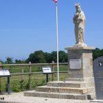 Saint-Germain-de-Varreville, monument 101st Airborne Division Pathfinders