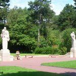 Colleville-sur-Mer – Saint-Laurent-sur-Mer, cimetière américain, statues allégories