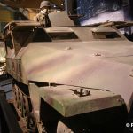 Colleville-sur-Mer, Overlord Museum, semi-chenillé Sd. Kfz. 251