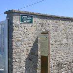 Saint-Martin-des-Entrées, stèle Sergeant Ferguson