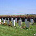 Secqueville-en-Bessin, cimetière britannique, le carré allemand