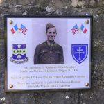 Yvetot-Bocage, plaque PFC Mc Donald