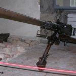 Cherbourg-Octeville, le musée de la Libération - mitrailleuse américaine Browning M2 HB 50