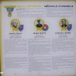 Cherbourg-en-Cotentin, le musée de la Libération - plaque Médaille d'Honneur