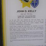 Cherbourg-Octeville, le musée de la Libération - plaque Médaille d'Honneur John Kelly