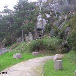 Cherbourg-Octeville, entrée d'un tunnel de la batterie du Roule