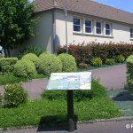 Saint-Hilaire-Petitville, panneau hôpitaux américains