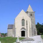 Saint-Germain-de-Varreville, l'église Saint-Germain des XIIIe et XIVe siècles