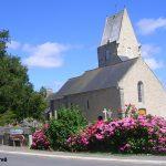 Écausseville, l'église Saint-Martin du XIIe siècle