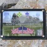 Écausseville, stèle 4th ID et 325th Glider IR