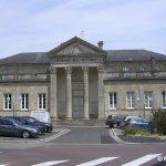 Valognes, le palais de Justice