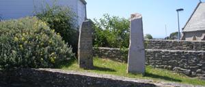 Bretteville, monument lettrine