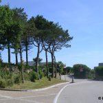 Herqueville, le centre du village