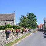 Maupertus-sur-Mer, le centre du village