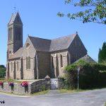 Maupertus-sur-Mer, l'église Saint-Martin du XIXe siècle