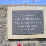 Omonville-la-Rogue, plaque pilote polonais