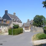 Coigny, le centre du village
