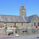 Coigny, l'église Saint-Pierre du XVIIIe siècle