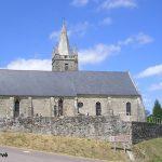 Golleville, l'église Saint-Martin du XVIIe siècle