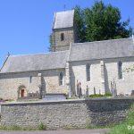 Houtteville, l'église Saint-Jean-Baptiste du XIIe siècle