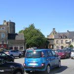 Bricquebec, la place Sainte-Anne