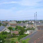 Flamanville, vue vers le nord