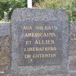 Flamanville, stèle soldats américains