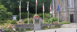 Flamanville, monument lettrine