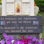Montgardon, stèle soldats américains
