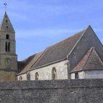 Anguerny, l'église Saint-Martin du XIe siècle