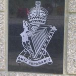 Cambes-en-Plaine, stèle 2nd Battalion The Royal Ulster Rifles