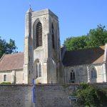 Cambes-en-Plaine, l'église Saint-Martin du XIe siècle