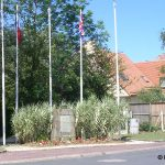 Colleville-Montgomery, monument Commando Kieffer