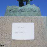 Colleville-Montgomery, monument Piper Bill Millin