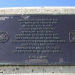 Colleville-sur-Mer, plaque 6th Naval Beach Battalion