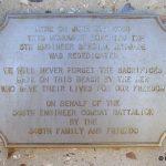 Colleville-sur-Mer, monument 5th Engineer Special Brigade