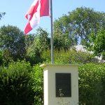 Colomby-sur-Thaon, stèle régiment La Chaudière