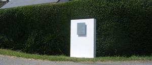Goustranville, monument lettrine