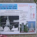 Hermanville-sur-Mer, parcours pédagogique panneau n°9