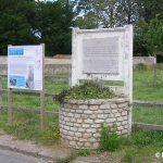 Hermanville-sur-Mer, plaque puits « Mare Saint-Pierre »
