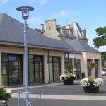 Hermanville-sur-Mer, la médiathèque